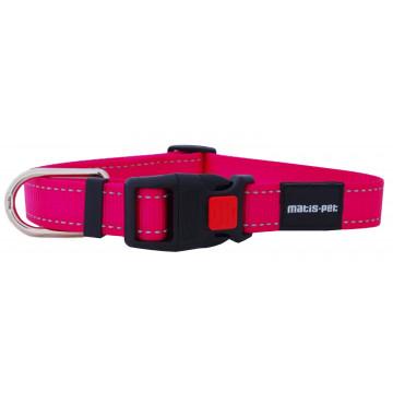 Ошейник для собак MATIS-PET 2,5 см CS розовый (Матис Пет)