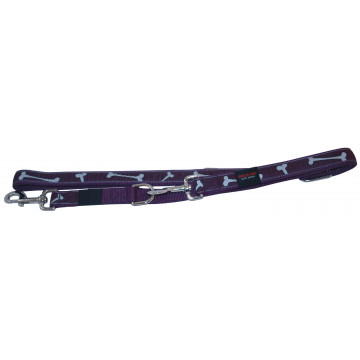 Поводок-Перестёжка MATIS-PET 2,0 см MD фиолетовый,косточки (Матис Пет)
