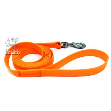 Поводок для собак биотановый Оранжевый 20мм*1,5м*2м*3м