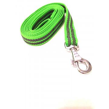 Поводок для собак нейлон с латексом Onega 25мм*1,5*2*3*5м Неон(прорезиненный)