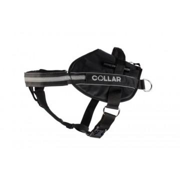 Шлейка для собак Collar Police N5 c боковыми кольцами и фонариком