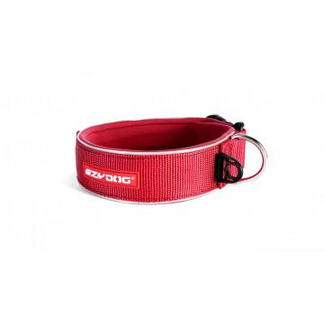 Ошейник NEO EzyDog широкий XL красный (ИзиДог)