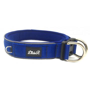 Ошейник для собак с неопреновой подкладкой 3,5см Синий