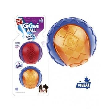 Игрушка для собак G-BALL 2 Мяча с пищалкой Большой 8 см