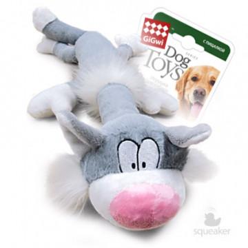 Игрушка для собак ГиГви Большой Кот с Большой пищалкой 63 см