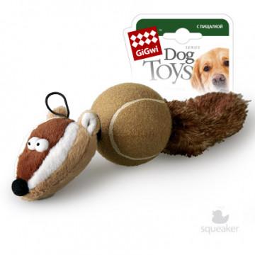 Игрушка для собак ГиГви Барсук с 2-мя Пищалками 32 см