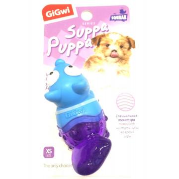 Игрушка для собак ГиГви SUPPA PUPPA Лиса С Пищалкой 10 см
