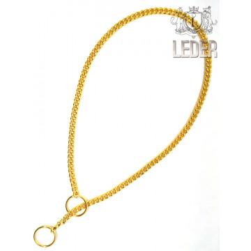 Рывковая цепочка ювелирное плетение 1,35мм золото