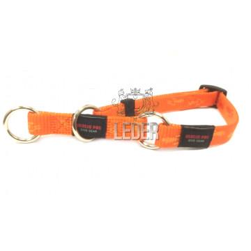 Полуудавка для собак нейлон MATIS-PET 1,5 см DP оранжевая (Матис Пет)