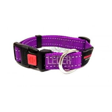 Ошейник для собак MATIS-PET ширина-2,0см Фиолетовый (Матис Пет)