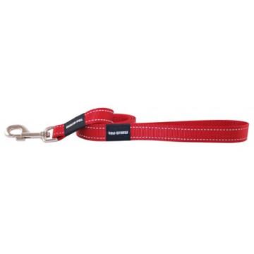 Поводок для собак нейлон MATIS-PET 2,5см CS красный (Матис Пет)