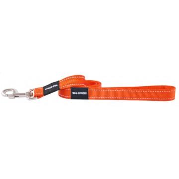Поводок для собак нейлон MATIS-PET 2,5см CS оранжевый (Матис Пет)