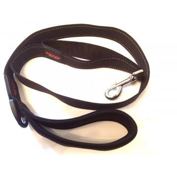 Поводок для собак нейлон MATIS-PET 4,0 см CS чёрный (Матис Пет)