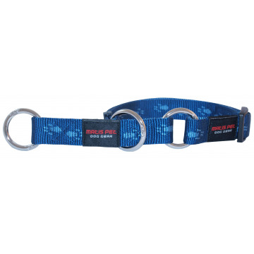 Полуудавка для собак нейлон MATIS-PET 1,5 см DP синий (Матис Пет)
