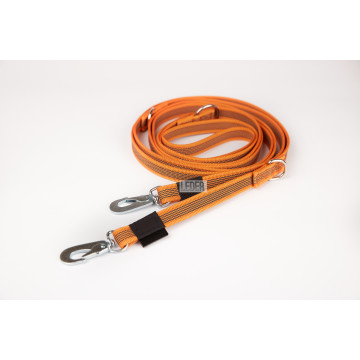 Поводок-перестёжка для собак нейлон с латексом (прорезиненный) 20мм* 3м