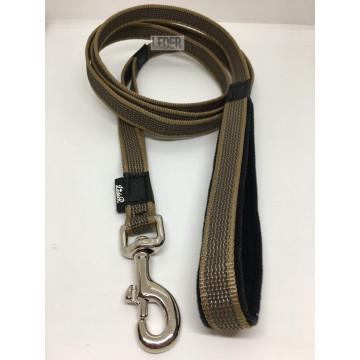Поводок для собак нейлон с латексом (прорезиненный) КАЙОТ 20мм*1-10м