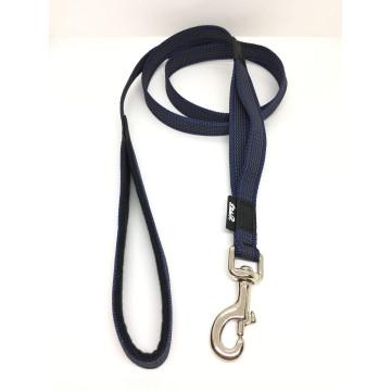 Поводок для собак нейлон с латексом (прорезиненный) Синий 20мм*1-5м