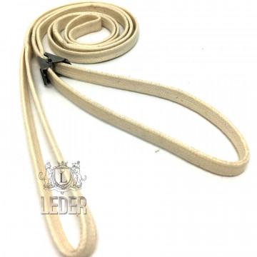 Ринговка для собак Onega хлопок с крабиком 10мм слоновая кость