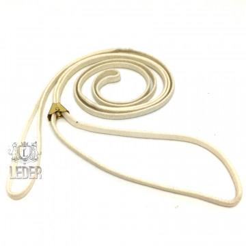 Ринговка для собак Onega хлопок с крабиком 5мм слоновая кость