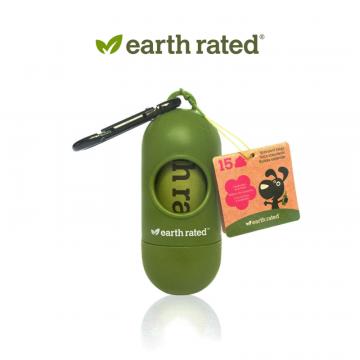 Контейнер для пакетиков Earth Rated® на карабине