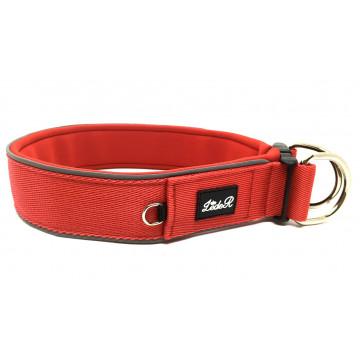 Ошейник для собак с неопреновой подкладкой 3,5см Красный