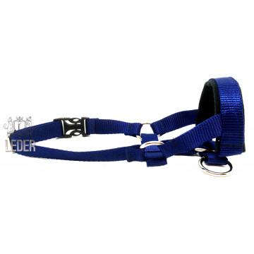 Недоуздок для собак (Халти) нейлон №4 синий