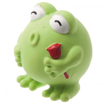 Игрушка для собак латекс Лягушка маленькая 7,5 см