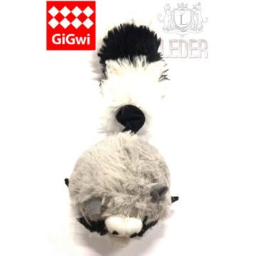 Игрушка для собак ГиГви Енот С 2-мя Пищалками 26 см