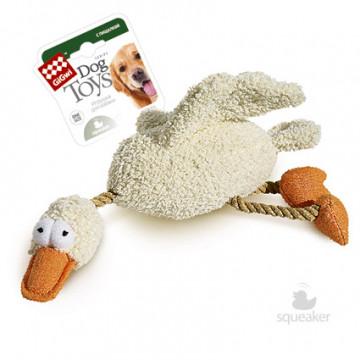 Игрушка для собак ГиГви Утка с Пищалкой 36 см