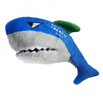 Игрушка для собак ГиГви Акула для тритсов с пищалкой 30см