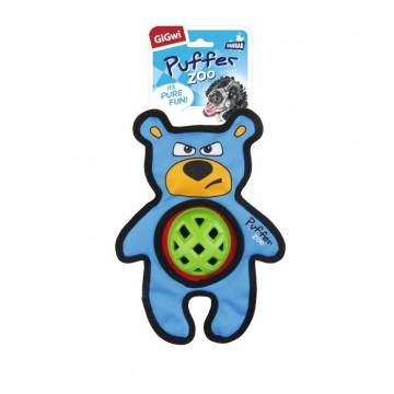 Игрушка для собак ГиГви Медведь с пищалкой усиленный материал