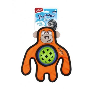 Игрушка для собак ГиГви Обезьяна с пищалкой усиленный материал