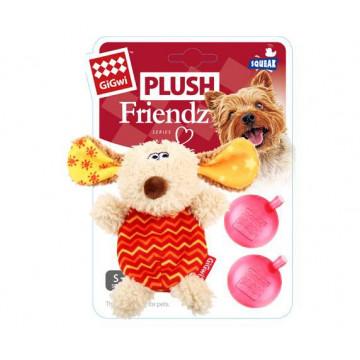 Игрушка для собак ГиГви Собачка С 2-мя Пищалками 13 см
