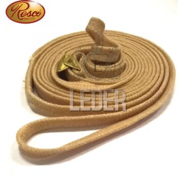 Ринговка для собак Resco 10мм пшеничная (бежевая)