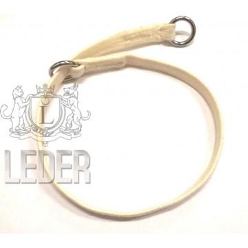 Удавка для собак Onega хлопок 10 мм 45-60 см Слоновая Кость
