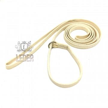 Ринговка для собак Onega хлопок удавка 10мм слоновая кость