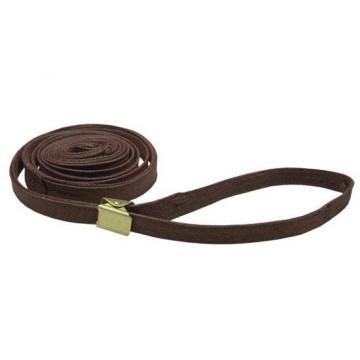 Ринговка для собак Resco 10мм тёмно-коричневая