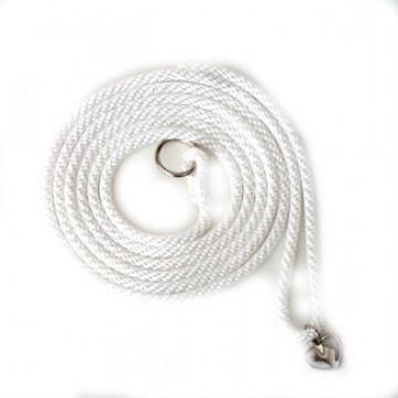 Ринговка для собак Weathertop Collection 3мм белая