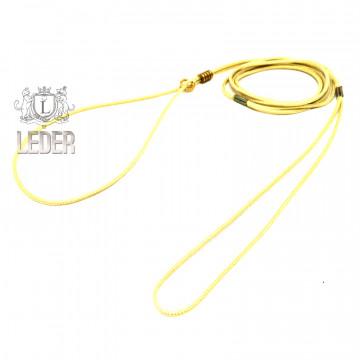 Ринговка для собак Onega Круглая нейлон 3мм Золотая