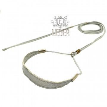 Ринговка для собак Onega Круглая с Расширителем нейлон 3мм Серая