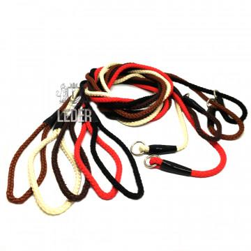 Ринговка-удавка для собак круглая нейлон 8мм*170см цвет в ассортименте