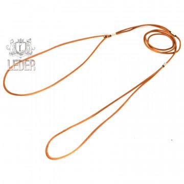 Ринговка для собак круглая шёлк 3мм цвет в ассортименте